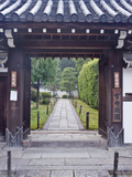 Temple Gate, Sesshuji, Kyoto, Japan Photographic Print by Rob Tilley