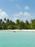 Motu Teveiroa, Bora Bora, French Polynesia Photographic Print by Roberto Gerometta