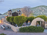 The Chimayo Sanctuary, Chimayo, New Mexico, USA Photographic Print by Luc Novovitch