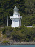 Historic Lighthouse, Akaroa, Banks Peninsula, Canterbury, South Island, New Zealand Photographic Print by David Wall