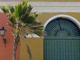 Old San Juan Façade, San Juan, Puerto Rico, USA, Caribbean Photographic Print by Kymri Wilt