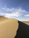Sand Dune Ridge, Bruneau Dunes State Park, Idaho, USA Photographic Print by Brent Bergherm