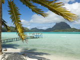 Mount Otemanu, Bora Bora, French Polynesia Photographic Print by Roberto Gerometta