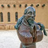The Chimayo Sanctuary, Chimayo, New Mexico, USA Photographic Print by Luc Novovitch