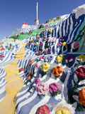 Salvation Mountain, Niland, California, USA Photographie par Luc Novovitch