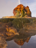 Fly Geyser, Black Rock Desert, Nevada, USA Photographic Print by Cathy & Gordon Illg