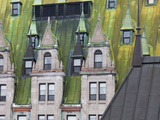 Architectural Details of Chateau Frontenac Hotel, Quebec City, Canada Photographic Print by Keren Su