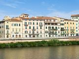 Lungarno Pacinotti, Arno River, Pisa, Tuscany, Italy Photographic Print by Nico Tondini