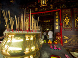 Cheng Hoon Teng Temple, Melaka, Malaysia Photographic Print by Anthony Asael