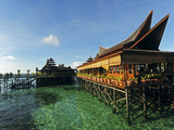 Luxury Hotel, Mabul, Semporna, Borneo, Malaysia Photographic Print by Anthony Asael