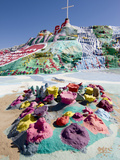Salvation Mountain, Niland, California, USA Photographic Print by Luc Novovitch