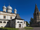 Cathedral of Our Lady of the Sign, Novgorod Oblast, Veliky Novgorod, Russia Photographic Print by Walter Bibikow