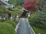 Japanese Garden, Kyoto, Japan Photographic Print by Rob Tilley