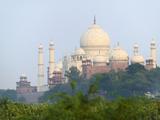 Taj Mahal (UNESCO World Heritage Site), Agra, India Photographic Print by Keren Su