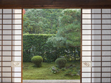Temple Window, Sesshuji, Kyoto, Japan Photographic Print by Rob Tilley