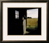 View from the Barn Framed Photographic Print by Linda Waltenberger