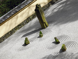 Zen Garden, Portland Japanese Garden, Portland, Oregon, USA Photographic Print by Michel Hersen