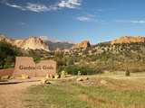 Garden of the Gods Historic Site, Colorado, USA Photographic Print by Patrick J. Wall