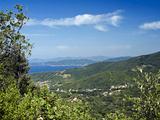 Marciana Marina and Procchio, Isola D'Elba, Elba, Tuscany, Italy Photographic Print by Nico Tondini