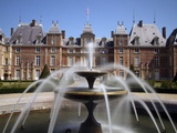 Fountain, Chateau, EU, Normandy, France Photographic Print by Alex Bartel