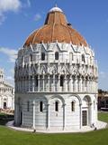 Piazza Dei Miracoli, the Baptistery, Pisa, Tuscany, Italy Photographic Print by Nico Tondini