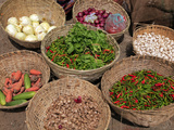 Vegetables Market, Wangdue Phodrang, Bhutan Photographic Print by Kymri Wilt
