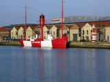 Lightship, Docks Vauban, Le Havre, France Photographic Print by Alex Bartel