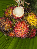 Rambutan (Nephelium Lappaceum), Phuket, Thailand Photographic Print by Nico Tondini
