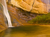 Waterfall, Grand Staircase Escalante National Monument, Utah, USA Photographic Print by Jay O'brien