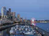 The Seattle Great Wheel, Seattle, Washington, USA Photographic Print by Jamie & Judy Wild