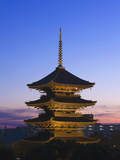 To-Ji Temple Pagoda, Kyoto, Japan Photographic Print by Rob Tilley