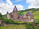 Schloss Stahleck, Bacharach, Germany Photographic Print by Miva Stock