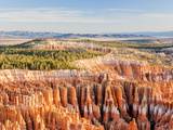 Hoodoos Tower at Sunrise Point at Bryce Canyon National Park, Utah, USA Photographic Print by Tom Norring