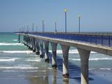 New Brighton Pier, Christchurch, Canterbury, South Island, New Zealand Photographic Print by David Wall