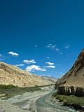Landscape, Markha Valley, Ladakh, India Photographic Print by Anthony Asael