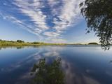 Lake Myachino, Novgorod Oblast, Veliky Novgorod, Russia Photographic Print by Walter Bibikow