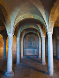 Crypt of San Pietro Church, Tuscania, Viterbo Province, Latium, Italy Photographic Print by Nico Tondini