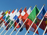 International Flags Photographic Print by Nico Tondini