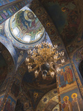 Church of the Saviour of Spilled Blood, Saint Petersburg, Russia Photographic Print by Walter Bibikow