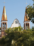 Iglesio Del Rexugio, Puerto Vallarta, Mexico Photographic Print by Michael DeFreitas