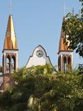 Iglesio Del Rexugio, Puerto Vallarta, Mexico Photographic Print by Michael DeFreitas