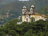 Colonial Church, Igreja Sao Francisco De Paula, Minas Gerais, Brazil Photographic Print by Anthony Asael