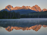 Little Redfish Lake, Sawtooth National Recreation Area, Idaho, USA Photographic Print by Jamie & Judy Wild