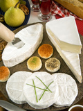 French Cheeses, France Photographic Print by Nico Tondini