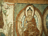 Buddhist Wall Paintings, Alchi, Ladakh, India Photographic Print by Anthony Asael