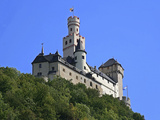 Castle Marksburg, Braubach, Germany Photographic Print by Miva Stock