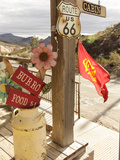 Route 66, Oatman, Arizona, USA Photographic Print by Julian McRoberts