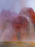 Fly Geyser, Black Rock Desert, Nevada, USA Photographic Print by Cathy & Gordon Illg