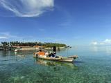 Dayak Lau, Mabul, Semporna, Borneo, Malaysia Photographic Print by Anthony Asael