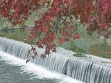 Waterfall, Arashiyama, Kyoto, Japan Photographic Print by Rob Tilley